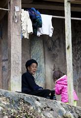 Black Hmong Granna (AnnaYohana) Tags: woman black vietnam sapa blackhmong northvietnam vietnamethnic
