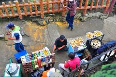 open for business (MailHamdi) Tags: street travel family vacation people food mountain work indonesia living nikon view drink sigma business bandung seller birdeye 1750mm rezeki berniaga ismaelhma mailhamdi
