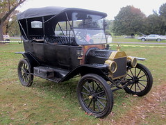 1914 Ford Model T Touring (splattergraphics) Tags: ford 1914 touring carshow survivor modelt hersheypa aaca antiqueautomobileclubofamerica aacaeasterndivisionfallmeet