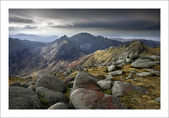ROSA (SwaloPhoto) Tags: islands coast scotland rocks coastal summit peaks isleofarran ridges goatfell estuaries scottishhighlands wildcamp bythesea firthofclyde corbetts glenrosa cirmhor caistealabhail northgoatfell leefilters velvia2 fujinonxf14mmf28r fujixe2 deargcoirein