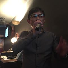 ヒロキ先輩の和田アキ子「この鐘を鳴らすのはあなた」の節で「この店の金を払うのはあなた」熱唱なう。