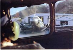 Air Queensland - 1982  (Explored #254) (Aussie~mobs) Tags: aeroplane airqueensland cairns australia pilot window vhpnm vhbpn 1982 airport controls cockpit hanger cru årgang jahrgang vendimia aussiemobs