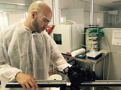 We are MakeitAlive - 3DforScience. Shotting on labs