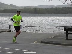 6th on road LFC Paul (Annie-Sue Jyelra) Tags: yellow slow marathon running runners gusty ambleside windermere waterhead brathay 10in10 brathaytrust