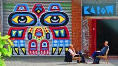 Chris Dyer / Huidevetterken - 11 mei 2015 (Ferdinand 'Ferre' Feys) Tags: chrisdyer gent ghent gand belgium belgique belgië streetart artdelarue graffitiart graffiti graff urbanart urbanarte arteurbano ferdinandfeys
