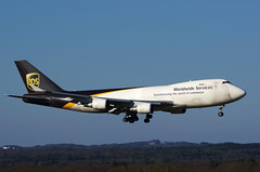 B747 N582UP UPS 2 app (Avia-Photo) Tags: plane airplane airport pentax aircraft aviation cologne kln aeroplane cargo airline airlines flugzeug koeln spotting airliner avion airliners freighter planespotting aviacion luftfahrt eddk cgn