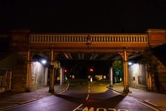 Herne Hill, SE24 (LFaurePhotos) Tags: street bridge london night south architect hernehill
