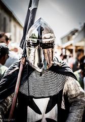 Chevalier de Provins (eddy_737) Tags: france canon dof bokeh knight cavalier chevalier medievale provins