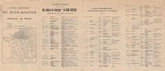 1907. Carte routire de Dion-Bouton. Environs de Paris (foot-passenger) Tags: dionbouton  dedionbouton bnf gallica bibliothquenationaledefrance