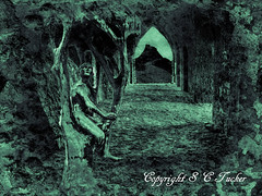 The Cave Dweller (stephentucker558) Tags: cave golam grunge castle