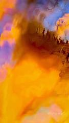 Melting Light 2 (Salwa Afef) Tags: sunlight sunset motion abstract longexposure slowshutter nature natureabstract sky iphonephotography ipadart