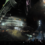U2 performs in 2009.