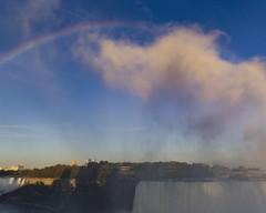 Niagara Falls Rainbow 05 (Craig Tata) Tags: niagarafalls outside outdoors water nature waterfalls americanfalls horseshoefalls rainbow