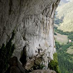 El futuro es espacio (xirmi) Tags: cueva cave aitzulo oate gipuzkoa hole montaa