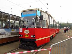 Konstal 105Na, #508, Tramwaje lskie (transport131) Tags: tram tramwaj bdzin t kzk gop konstal 105na zajezdnia depot