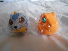 Digimon Gabumon and Agumon (ItalianToys) Tags: figure gabumon agumon digimon toy toys giocattolo giocattoli