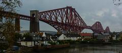 Forth Rail Bridge #1 (Claire Stones) Tags: forthrailwaybridge october nikon grey northqueensferry red firthofforth forthrailbridge scotland forth