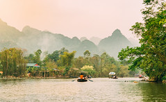 Chua Huong, Ha Tay, Vietnam (tuanduongtt8018) Tags: autumn morning travel green peaceful peace traditional destination tourism vietnam hanoi sun sunlight river ride