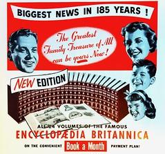 1950s Encyclopedia Britannica Ad (Christian Montone) Tags: ads advertising vintageads adverts vintage print printads 1950s midcentury