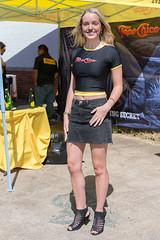 Topo Chico Girl (Ron Scubadiver's Wild Life) Tags: houston texas nikon 24120 street candid style heels denim miniskirt girl woman
