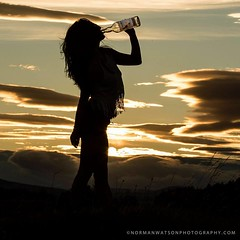 Photo shoot (Danijelka) Tags: photography whisky girl scotland sundown beauty nature natural