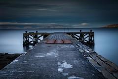 Portencross (sparky74) Tags: portencross pier long exposure big stopper bigstopper lee longexposure ayrshire scotland coast coastal 6d