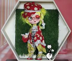 LDOLL FESTIVAL 2016 PREVIEW Miss Wink n°1/12 Handmade full custom Blythe