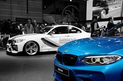 BMW M2 (Joseph Trojani) Tags: bmw bmwsafetycar safety car safetycar bmwm m bmwm2 nikon d7000 salondelautomobileparis2016 auto motor show paris motorshow