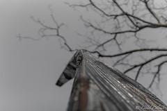 Monumental Monolith (Lionelcolomb) Tags: villecroze provencealpesctedazur france fr art noir et blanc noirblanc bw perspective monolith canon