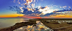 Breathtaking Sunset At Long Island New York Home Marina - IMRAN (ImranAnwar) Tags: 2016 beach boardwalk boating boats clouds dji dock drone dusk eastpatchogue flickr god greatsouthbay imran imrananwar inspiration lake landscape landscapes life lifestyles longisland marina marine memories nature newyork night outdoors panorama patchogue peaceful phantom4 philosophy photoshop red sea seasons sky sun sunset tranquility travel water winter yacht yachting yellow