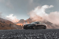 Is it heaven.... (Markus Holzer) Tags: audi audilover audiofficial audiquattro audisport audizine audia5 a5 s5 rs5 quattro sline stance stanced low lowered mbdesign hr coilover vorarlberg spullersee lech zrs zug mountains landscape amazing beautiful heaven autumn