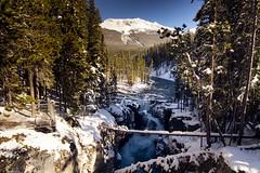Icy Turbulence (gwendolyn.allsop) Tags: sunwapta waterfall jasper canada alberta snow ice cold mountain