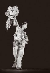 dancer / flower (keidong) Tags: dancer flower classicalchinesedance holmanhall trentonstatecollege ewing nj minoltaxk