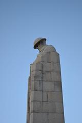 Brooding Soldier, Vancouver Corner. (greentool2002) Tags: brooding soldier vancouver corner