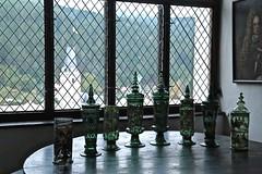 Rožmberk Castle 022 (smilla4) Tags: window glass stilllife painting czechrepublic rozmberkcastle rozmberknadvltavou