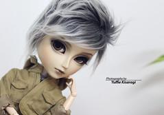 Grey days, grey boy... (Yuffie Kisaragi) Tags: doll taeyang horizon custom akai arashi caim obitsu rewigged rechipped