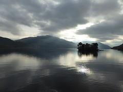 Loch Lomond (threejumps) Tags: lake loch lochlomond reflection island autumn scotland sky cloud moody