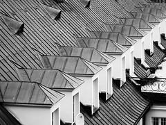 Architecture geometry (Darek Drapala) Tags: geometry architecture bw blackwhite blackandwhite panasonic poland polska panasonicg5 warsaw warszawa buildings building city roof town