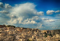 matera landscape hdr (ecordaphoto) Tags: landscape sky d5100 nikon dx landscapes matera basilicata sassi