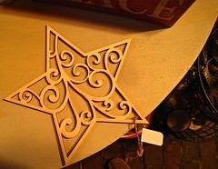 filigree star (muffett68 ☺ heidi ☺) Tags: ansh scavenger13 filigree star ornament christmas