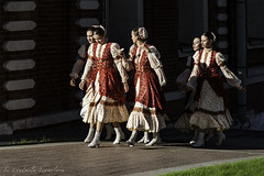 folklore group (Lyutik966) Tags: folklore group festival russianfield tsaritsino moscow people artist costume girl