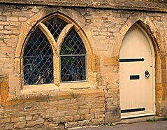 Window Display! (springblossom3) Tags: stonework gothic arches cotswolds
