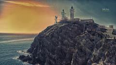 (395/16) Faro del Cabo de Gata (Pablo Arias) Tags: pabloarias photoshop nxd cielo nubes texturas arquitectura espaa faro cabodegata parquenatural almera comunidadandaluza