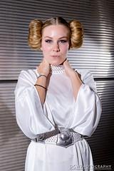 Princess Leia (dgwphotography) Tags: cosplay nycc nycc2016 newyorkcomiccon 70200mmf28gvrii nikond600 nikoncls portrait starwars princessleia