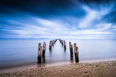 Outlook (Marty Friedel) Tags: lee filters cliftonsprings wood landscape oldpier victoria pier water nisi surf longexposure jetty coast clouds bellarinepeninsula australia au