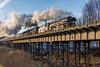 Quo Vadis (bonsai59) Tags: chemnitz deutschland sachsen brücke steamengine locomotive railway dampflok train zug lokomtive viadukt nikond5200 br01