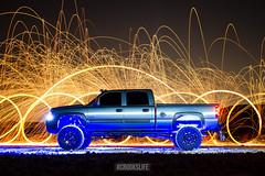Chevy Silverado #CrooksLife (Crooks Life) Tags: chevy silverado vegasphotographer lasvegasphotographer liftedtruck vegashid rigid rigidindustries american truckdynasty truckdaily liftedtrucks lifted truckporn nightphotography lights