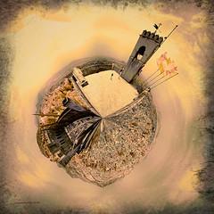 Torre de la Vela (Ar@lee) Tags: granada alhambra fotografa infrarrojos photography infrared ir fullspectrum filter nikond50 d50 panormica paisaje aire libre la alcazaba sigloix mohamed i generalife 630nm