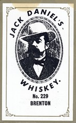 Australia, Hindmarsh - Jack Daniel - Hindmarsh, Australia (73sand88s by Cardboard America) Tags: qsl qslcard vintage cbradio cb alcohol advertising australia