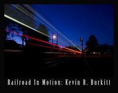 Railroad in Motion Spring Lake Red 2012 blue (Kevin R. Burkitt) Tags: newjerseytransit springlake manasquan belmar nikond3s